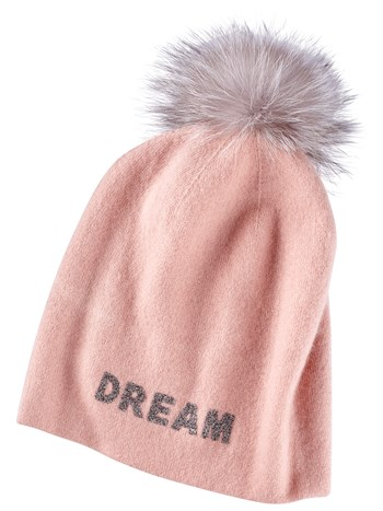 dream cashmere knit hat