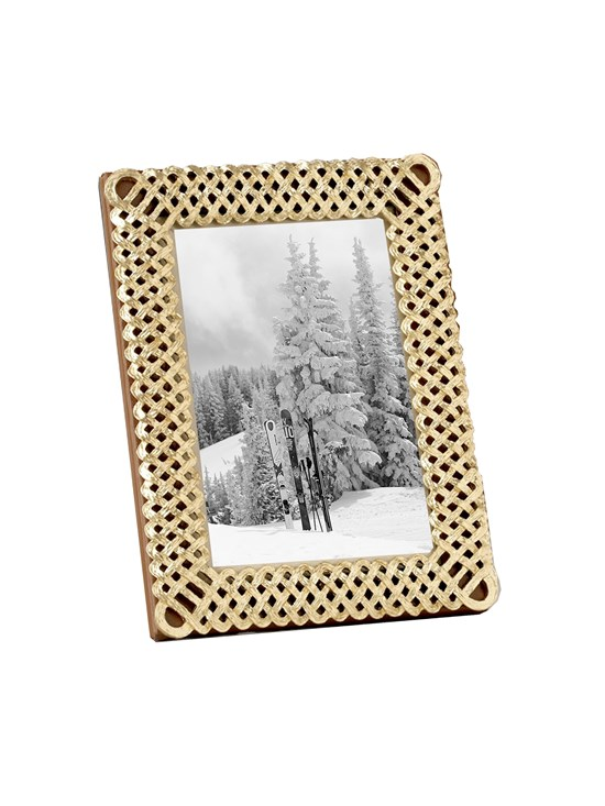 gold braid frame 4x6