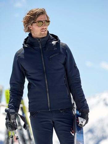 matt stretch schoeller ski jacket