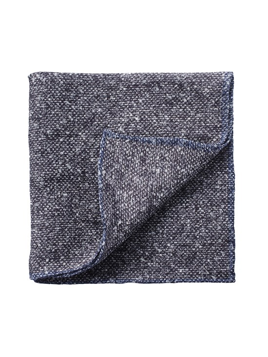 linen tweed pocket square