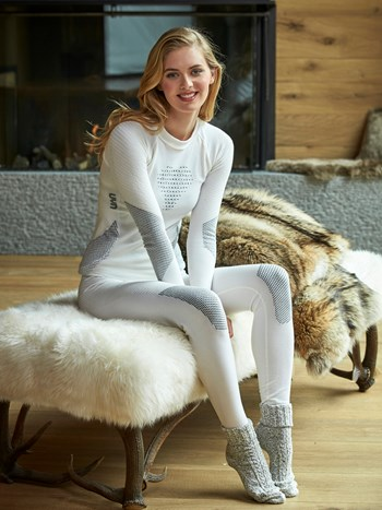 ladies fusyon wool compression legging