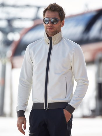 oliver wool powerstretch midlayer jacket