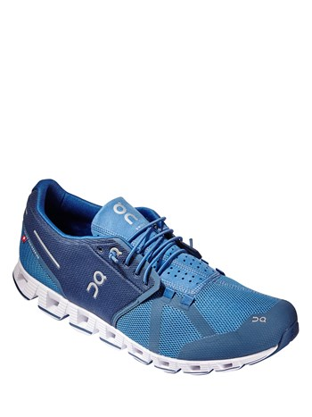 cloud blue/denim running shoe