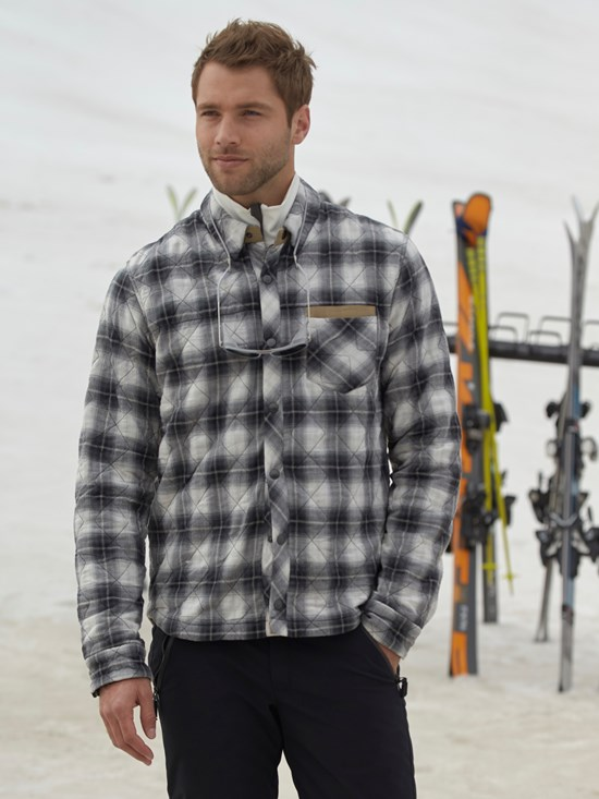 ted check ski shirt