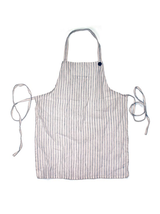 children's striped apron