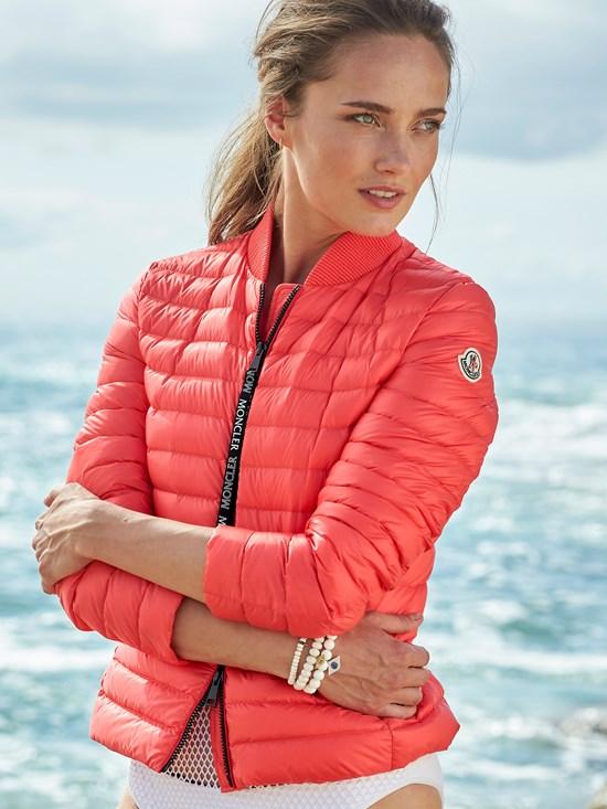 8d4e6132e blenca nylon leger light weight down jacket