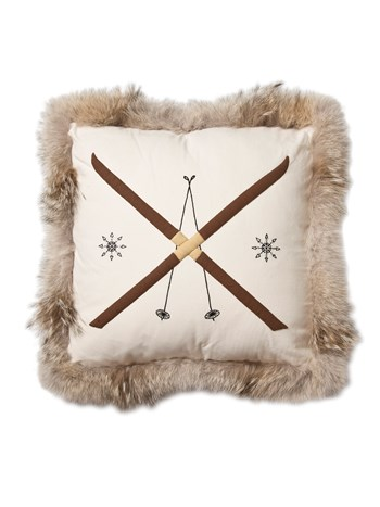 coyote ski pillow