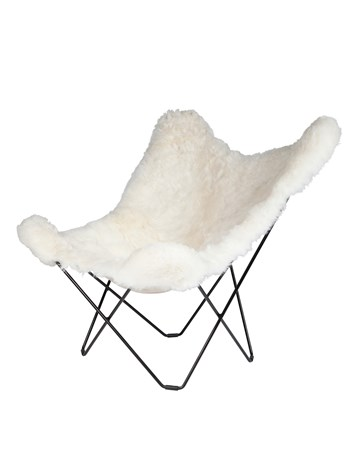 shearling white chair