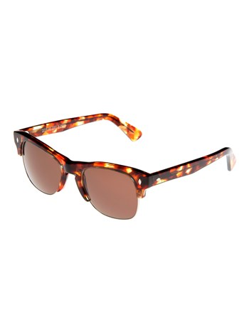autumn brown sunglasses