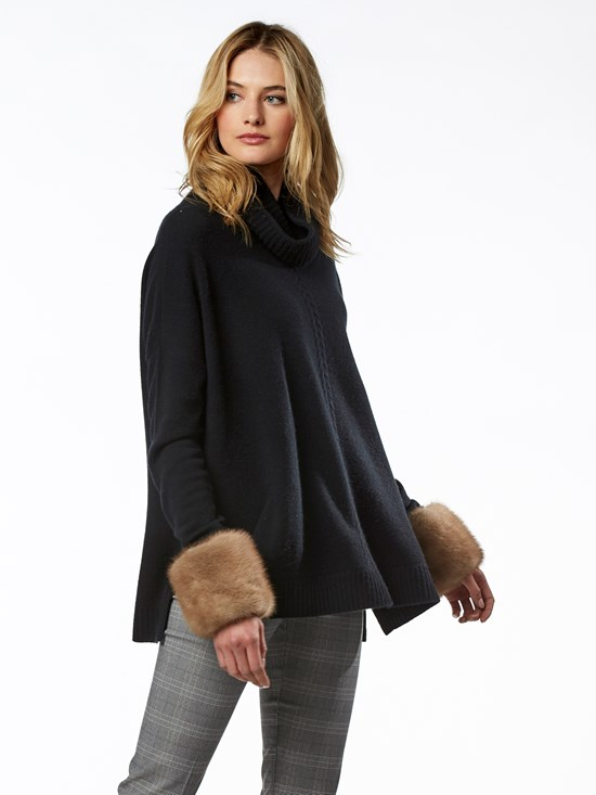 carmela swing turtleneck sweater