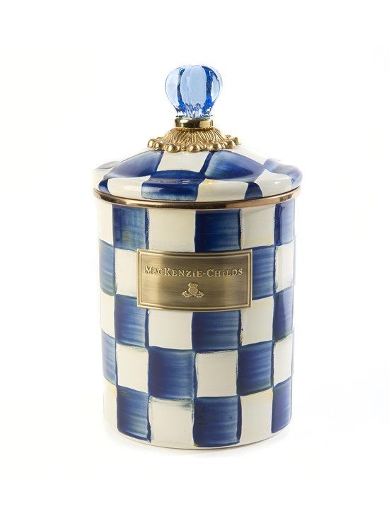 royal check canister medium