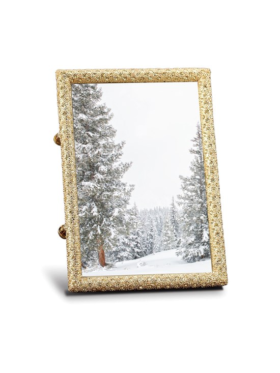 gold crystal frame 5x7