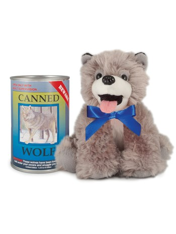 wolf canned critter