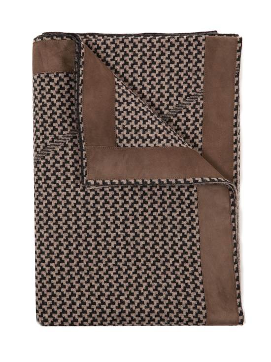 denver cashmere suede throw