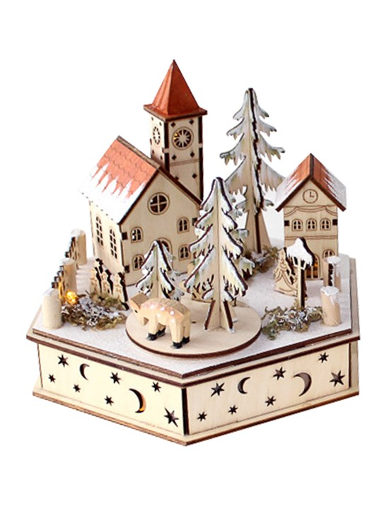 alpine clock electric music box