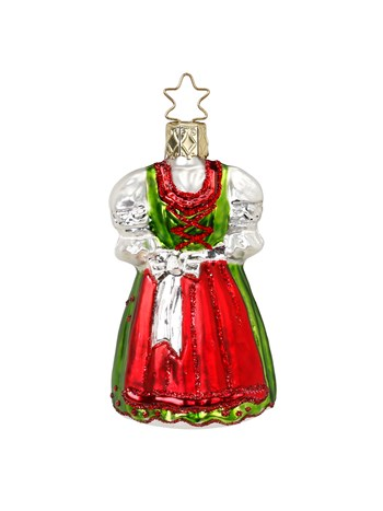 dirndl ornament