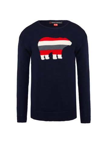 merino wool bear sweater