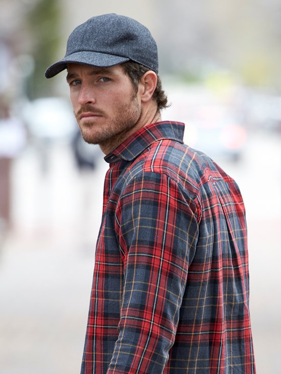 wool flannel hat