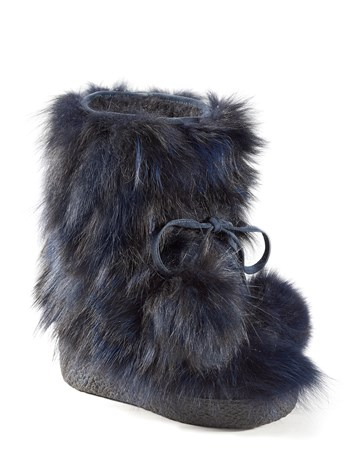 belle low fur boot