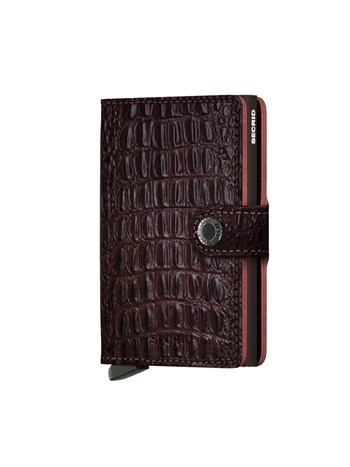 mini wallet nile brown