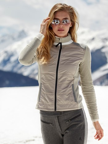 fleece midlayer jacket