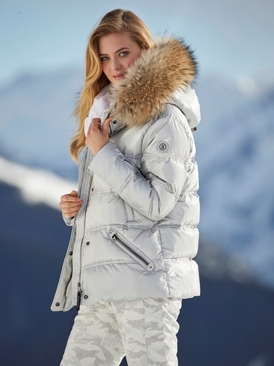 dania metal down ski jacket
