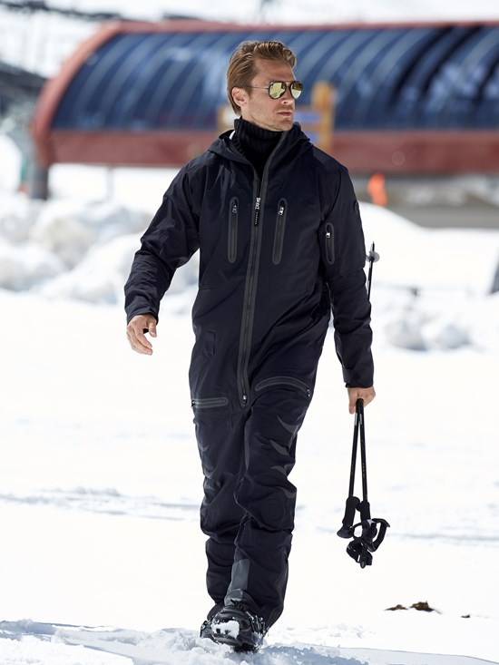 eric one piece ski suit