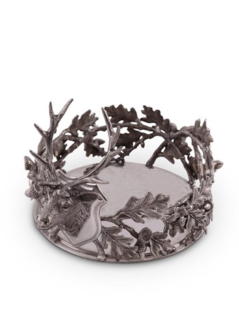 stag wine coaster
