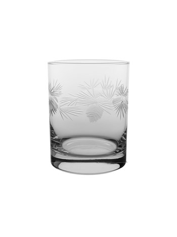pine cone cocktail glass