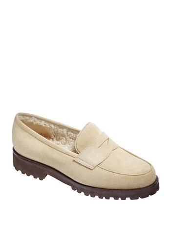 gstaad suede loafer