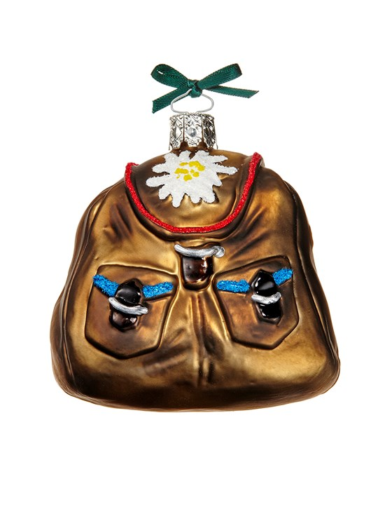 swiss backpack ornament