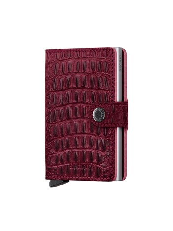 mini wallet nile red