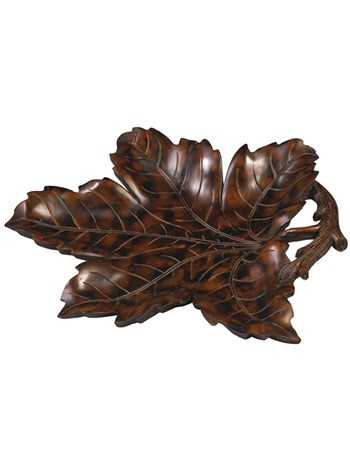 leaf tray dark brown