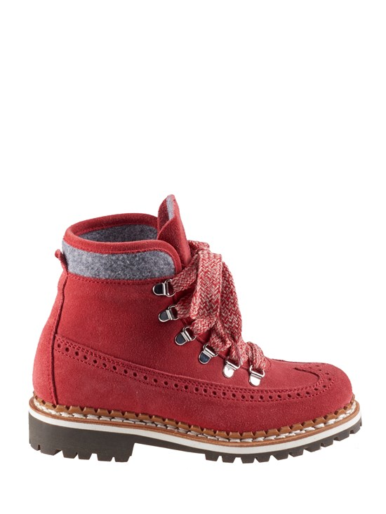 vip wingtip suede hiker boot