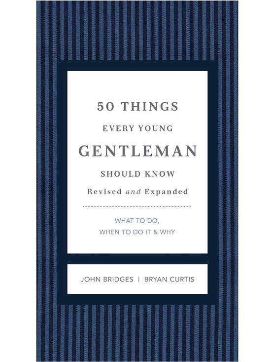 50 things every gentleman should know
