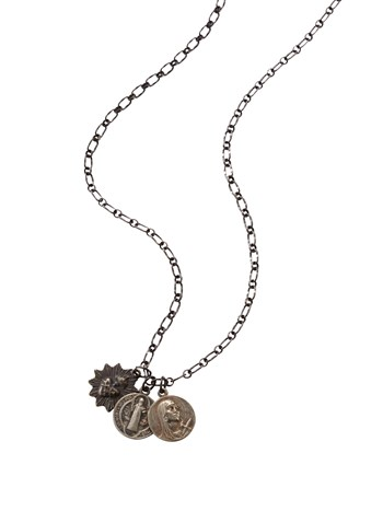 figaro chain icons necklace