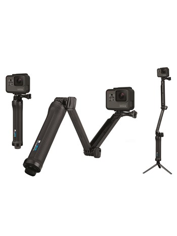 3-way grip tripod