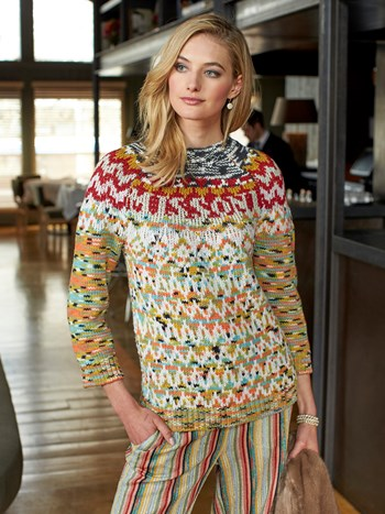 missoni fairisle sweater