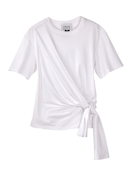 side tie t shirt