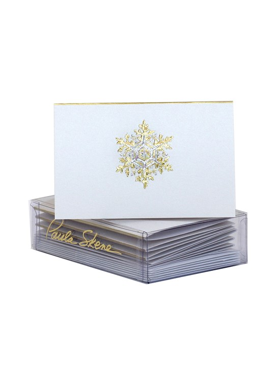 snowflake enclosure card set