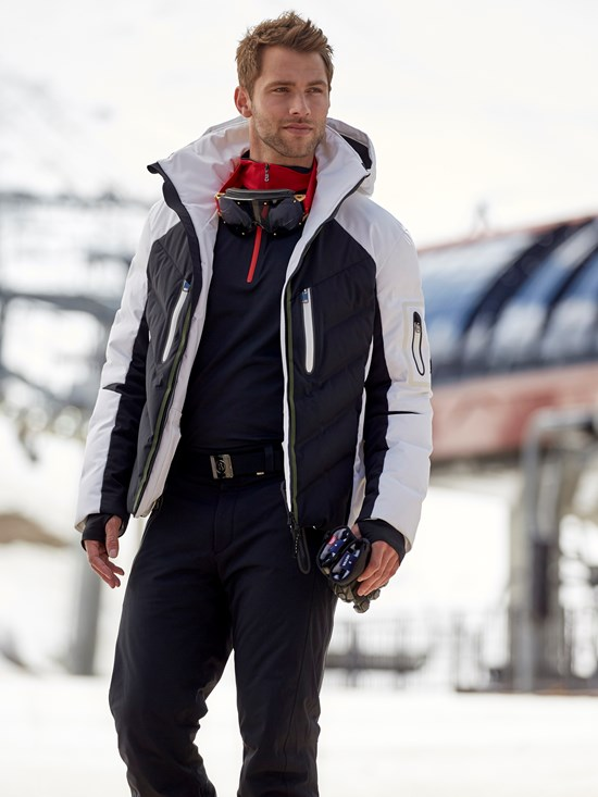 felian stretch down ski jacket