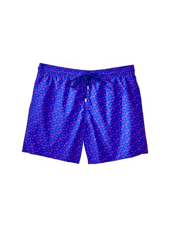 mini turtles print swim shorts