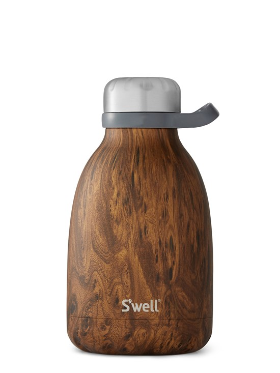 teakwood roamer water bottle 40 oz