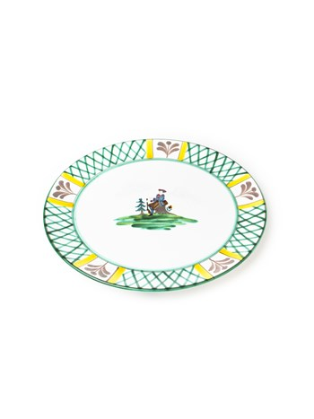 hunter salad plate