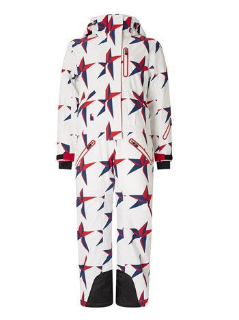 star one piece ski suit