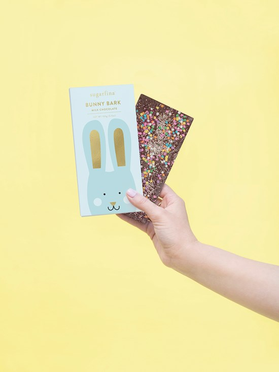 milk chocolate bunny bark