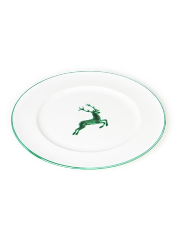 stag dinner plate