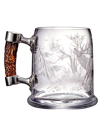 stag beer stein