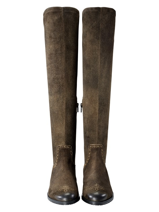 patsy suede riding boot