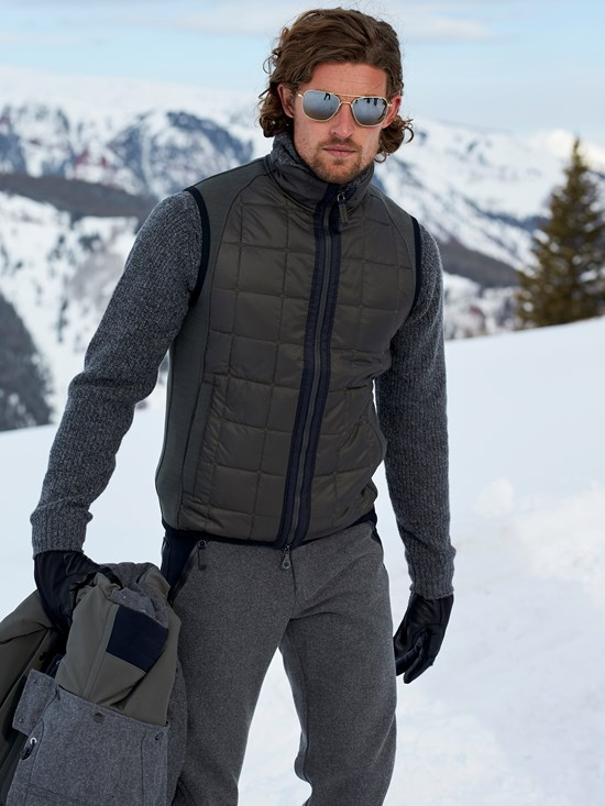 lucas quilted vest